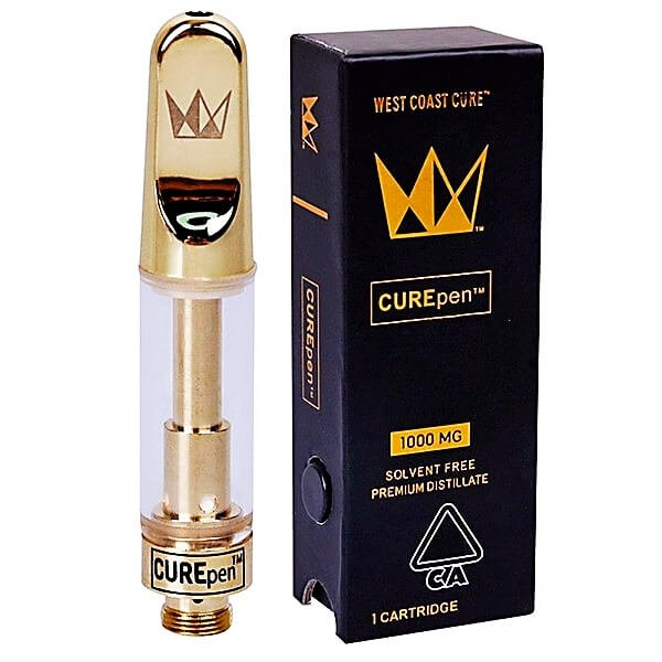 West coase empty carts with packaging Vape Atomizer CCELL Vape Cartridge 510 Thread Ceramic Coil Oil Cartridge Ceramic Tip Smoking Glass Tank