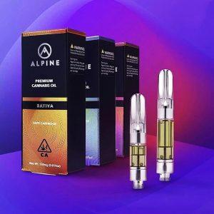 Alpine empty vape cartridges bulk empty carts with packaging 510 thread empty vape pen