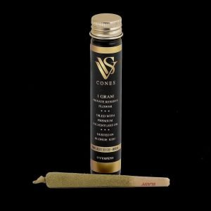 VVS empty preroll packaging glass tube bulk for weed cones joint packs