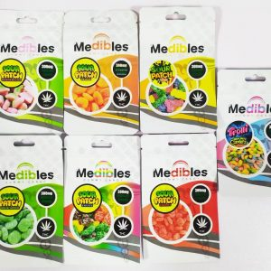 Medibles empty weed bag bulk for gummy and candy