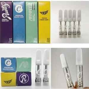 New cookies  empty vape cartridges bulk empty carts with packaging 510 thread empty vape pen