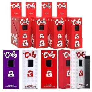 Cake vape disposable pen with packaging wholesale ,empty vape cartridges empty carts with packaging 510 thread empty vape pen